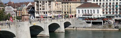 Best of Bâle / Basel in Switzerland – Mittlere Rheinbrücke